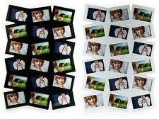 Photo gallery wooden in white or black for 18 Photos Picture frame Photo collage