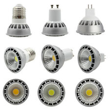 E27 GU10 MR16 Dimmable 15W LED COB Spot Light Bulb Lamp 110V 220V 85-265V/DC 12V