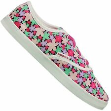 Adidas NEO Vlneo Casual Trainers Lifestyle Shoes White Rosa Flower Flowers Derby