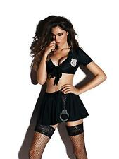 Ann Summers Womens Ladies Constable Cutie Outfit Dress Sexy Fancy Nightwear