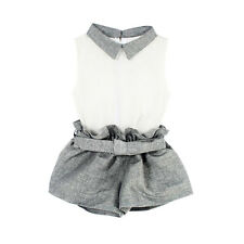 Kids Baby Girls Summer Clothes Vest T-shirt+Pants Suits Outfits 2Pcs Set  1-6Y