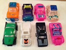 Lot of 8 vehicles:Chevy/VW/Renault?/Dune Buggy/Off-Road/ Aurora tjet bodies?