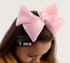 Big Bows Jumbo Hair Bow Lot Set of 8 Southern Style Bows Big 7 inch Hairbows