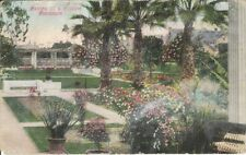 Private Residence Garden - Road of a Thousand Wonders - mailed 1914