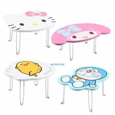 JAPAN SANRIO HELLO KITTY MY MELODY GUDETAMA FOLDING WOODEN TABLE