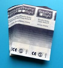 Test against snoring: 6 Breathe Right Nose stripes Nasal strips - please choose