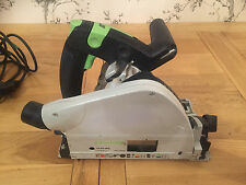 FESTOOL TS55 EBQ PLUS PLUNGE SAW 240V USED  BUT IN EXCELLENT WORKING ORDER