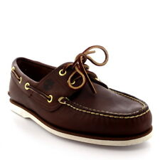 Mens Timberland Classic 2 Eye Boat Lace Up Smart Leather Deck Boat Shoes UK 7-13
