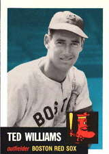 1991 Topps Archives 1953 Ted Williams Boston Red Sox #319 Baseball Card