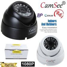 Outdoor POE HD 1080P 3.6mm Wide Angle IP Camera  IR Night Network Security CCTV