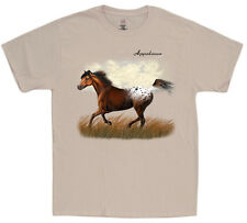 Appaloosa shirt for men horse breed decal design tee equestrian gift clothing