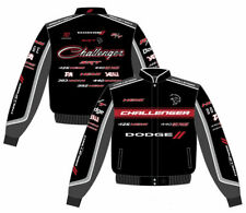 2017 Authentic Carroll Shelby Embroidered Cotton Jacket JH Design Black