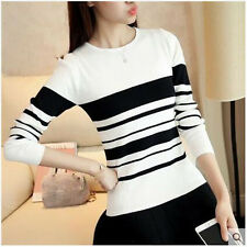 new Autumn Korean fashion Round collar shitsuke thin Knitting sweater coat