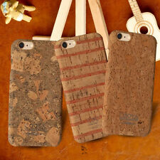 Genuine Ultra-thin Wood Grain+TPU Grain Back Case Cover For iPhone 6 6s 7 Plus
