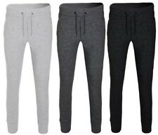 Mens Slim Fit Skinny Joggers Tracksuit Bottoms Trousers Gym Jogging Sweat Pants