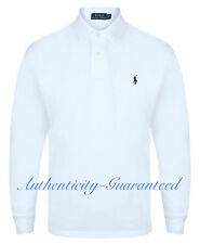 Ralph Lauren Men's Classic Fit Long Sleeve Polo Navy Black White S-XXL RRP £85