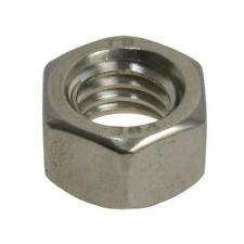 """Hex Standard Nut 3/8"""" UNC Imperial Coarse BSW Stainless Steel G304"""