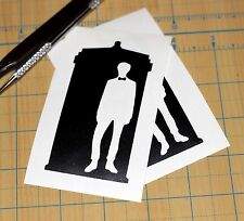 Dr. Who Tardis Sticker  | SET OF TWO | Doctor Who Tardis Decal