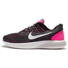 Wmns Nike Lunarglide 8 VIII Pink Grey White Running Shoes Sneakers 843726-601