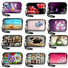 Boy's Girl Digital Camera Case Neoprene Bag Coin Purse Wallet Pouch Cover Strap