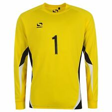 Sondico Core Goalkeeper Jersey Shirt Mens Yellow Football Soccer