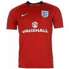 Nike England Training Jersey Mens 2016 Red/Royal Football Soccer Shirt Top