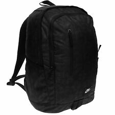 Nike Soleday Print Backpack Black Rucksack Sports Bag Gymbag Kitbag