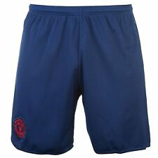 Adidas Manchester United FC Away Shorts 2016 2017 Mens Dark Blue Football Soccer