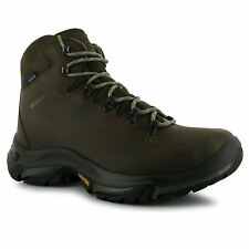 Karrimor Cheviot Waterproof Walking Boots Womens Brown Hiking Boots