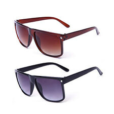 Vintage Retro Mens Womens Oversized Sunglasses UV400 Outdoor Sports Glasses New