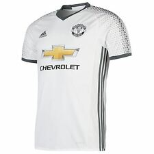 Adidas Manchester United 3rd Jersey 2016 2017 Mens White Football Soccer Shirt