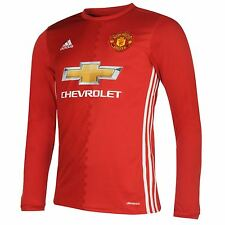 Adidas Manchester United FC Home Jersey 2016 2017 Mens Football Soccer Shirt