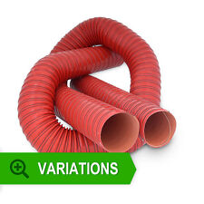 New FRD Flexible Air Ducting Silicone Red Ducting 2 PLY