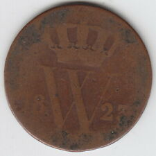 1823 Netherlands 1 Cent Coin