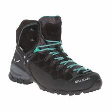 Salewa Alp Trainer Mid Gore-Tex Black Womens Trainers