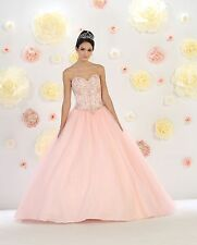 TheDressOutlet Quinceanera Long Ball Gown Sweet 16 Prom Dress