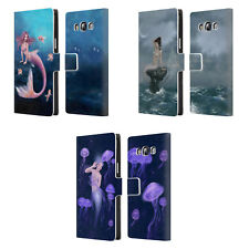 OFFICIAL RACHEL ANDERSON MERMAIDS LEATHER BOOK WALLET CASE FOR SAMSUNG PHONES 3