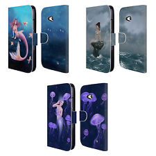 OFFICIAL RACHEL ANDERSON MERMAIDS LEATHER BOOK CASE FOR MICROSOFT NOKIA PHONES