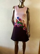 NWOT Dream Daily by Clover Canyon floral pink neoprene dress size M or S  - $316