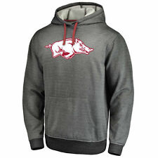 Fanatics Branded Arkansas Razorbacks Gray Performance Pullover Hoodie