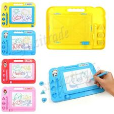 Children Kids Magnetic Magical Drawing Writting Reading Play Game Board Toy Gift
