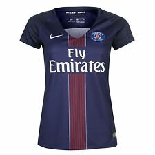 Nike Paris St Germain PSG Home Jersey 2016 2017 Womens Navy Football Soccer Top
