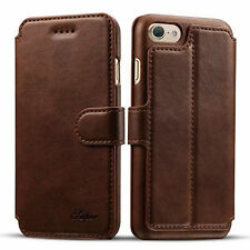 Shockproof Flip Cover Wallet Card Leather Case Stand For Apple iPhone 6 & 7 Plus