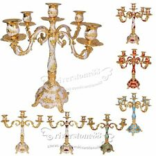 3/5 Arms Taper Candle Holders Chandeliers Candelabra Wedding&Romantic Dinner NEW