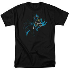 Batman NEON BATMAN Action Shot Licensed Adult T-Shirt All Sizes