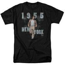 James Dean NEW YORK 1955 Licensed Adult T-Shirt All Sizes
