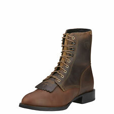 Ariat Men's Heritage Lacer Distressed Brown Western Cowboy Boots
