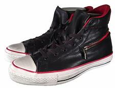 Converse X by John Varvatos Chuck Taylor Back Zip Hi LEATHER BLACK 145379C