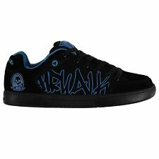 Airwalk Outlaw Skate Shoes Mens Black/Blue Trainers Sneakers Footwear