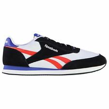 Reebok Classic Jogger Trainers Mens Blk/White/Red Sports Shoes Sneakers Footwear